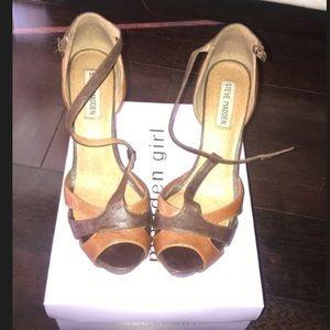 "Gently worn Steve Madden ""Pascha"" Sandals size 7.5"